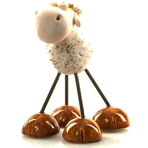 Wired leg ceramic sheep