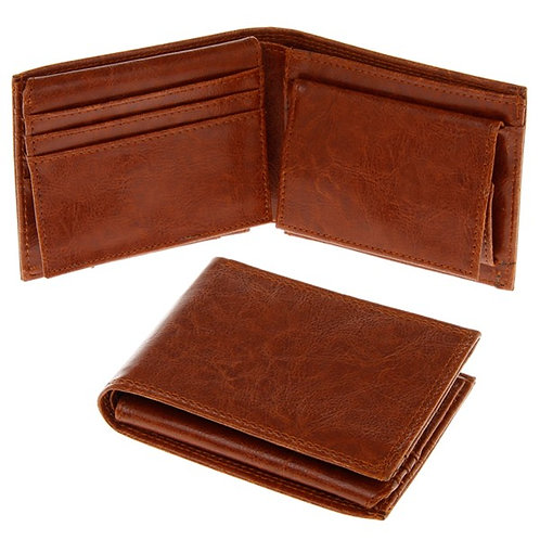 Tan wallet from Equilibrium