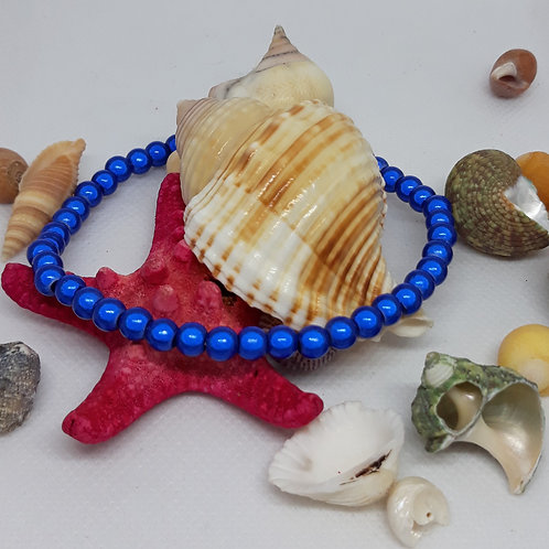 Bluemiracel bead anklet