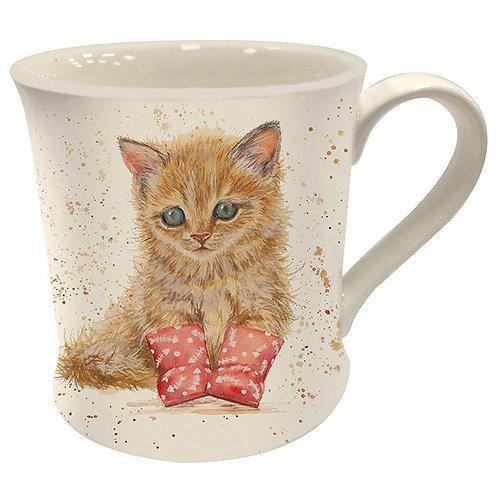 Bree Merryn marmalade kitten mug