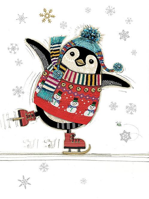 Penguin Skater card