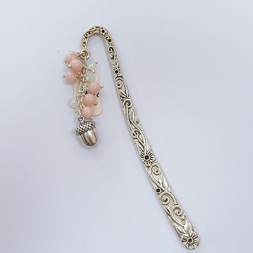 Flower bookmark with Acorn