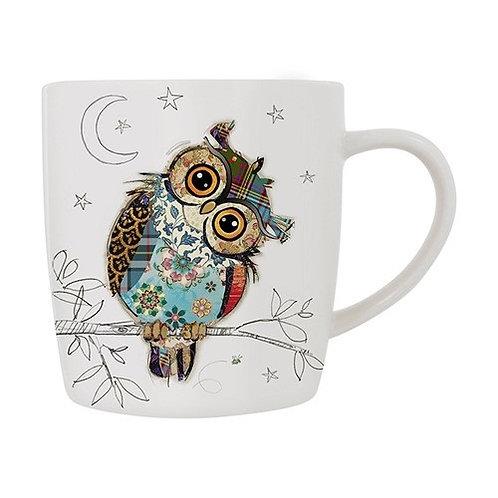 Bug Art Owen Owl Mug