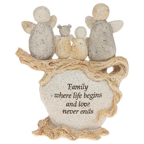 Pebble family angels