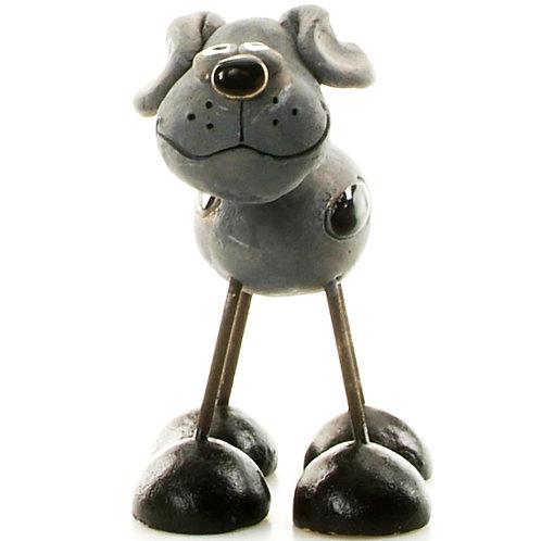 Wire leg dog