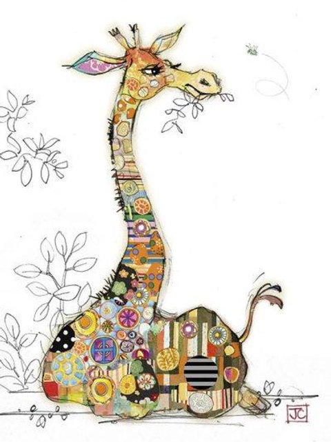 Gerry Giraffe Card
