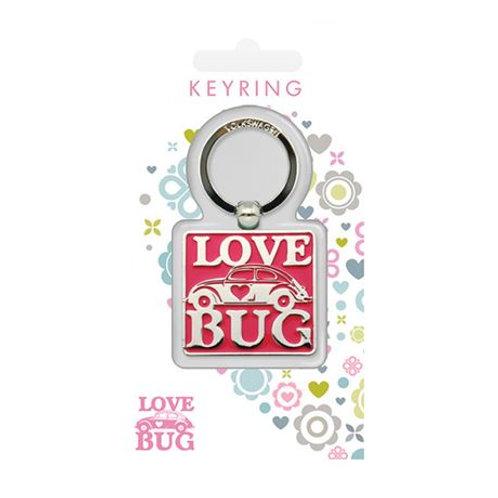 VW keyring, official product, Love bug beetle