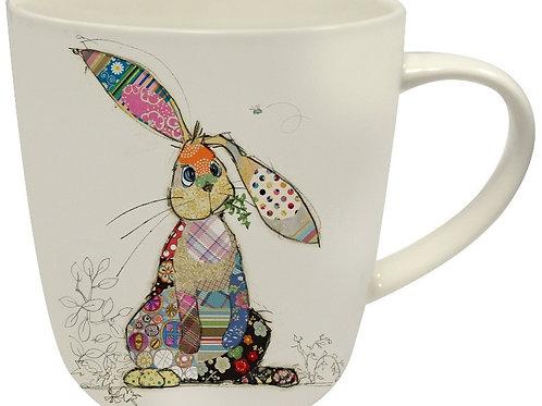 Bug Art Binky Bunny Mug
