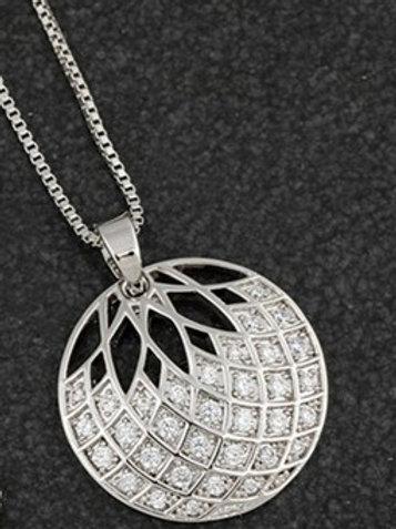 Circle Sparkle necklace