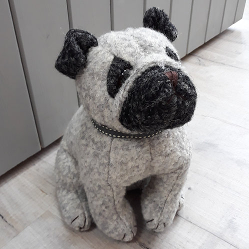 Dora Design Puggles Pug doorstop