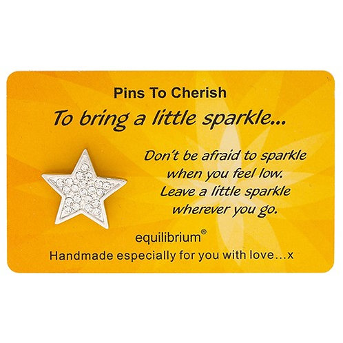 "Pin ""To bring a little sparkle"""
