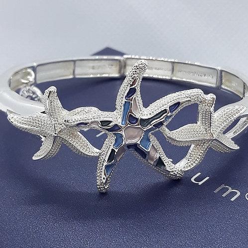 Mosaic Starfish bangle