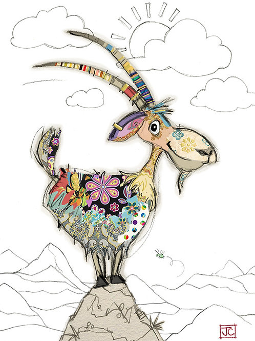 Gordon Goat card from Bug Art