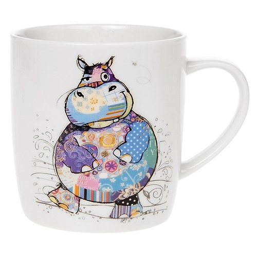 Bug Art Harry Hippo mug