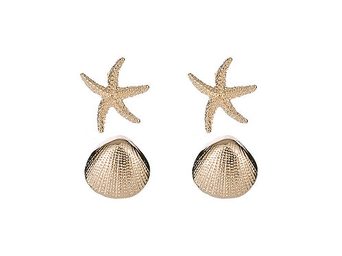 2 pairs seaside studs