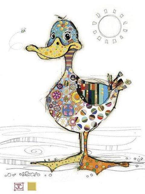 Dotty Duck Card