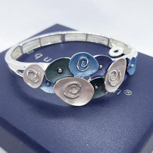 Lunar tones swirl Bracelet
