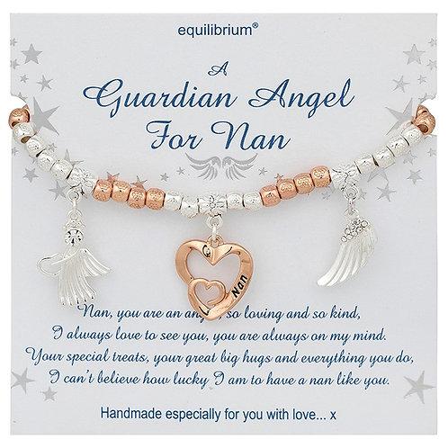 Beaded bracelet , Nan guardian Angel