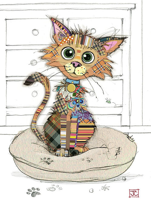 Kimba kitten card from BugArt