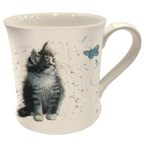Bree Merryn Poppy kitten mug