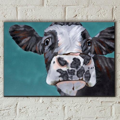 Ceramic tile, Spotty cow.