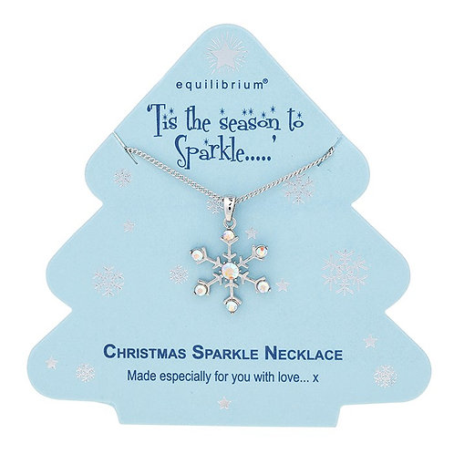 Snowflake necklace from Equilibrium
