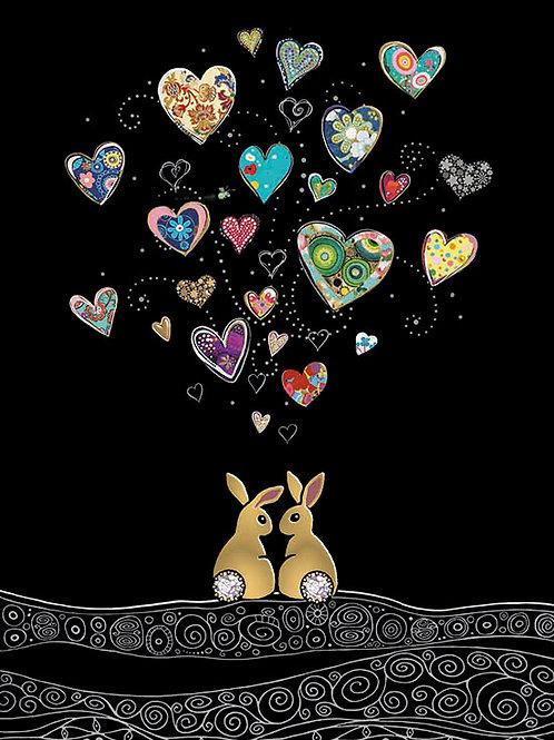Love Bunnies card