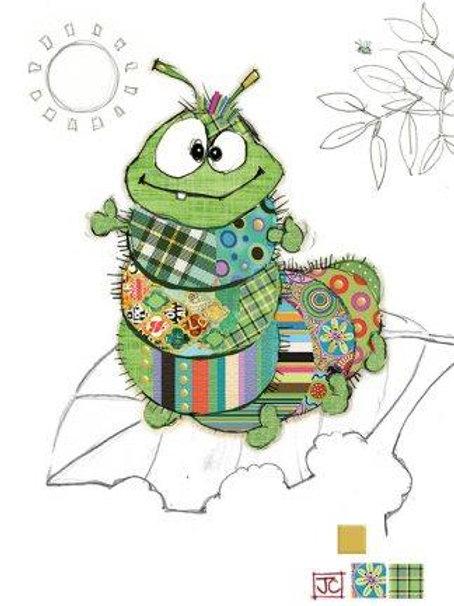 Cedric caterpillar card