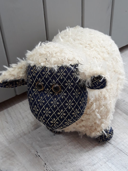 Dora design Laurie  sheep Doorstop