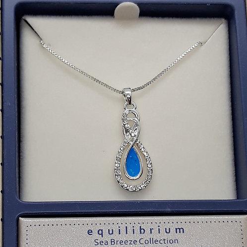 Sea breeze Eternity necklace