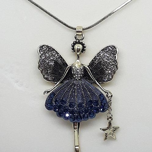 Antique look fairy Necklace