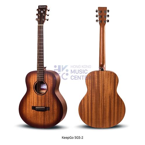 SGS-2 GS-MINI Solid Top Acoustic Guitar | 單板GS-MINI桶木結他
