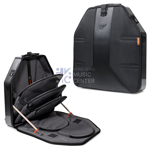 "VELOC Cymbal Bag 22"" | 可寄艙銅鈸袋 (半硬盒, 可背起/手拉)"