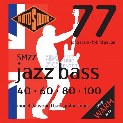 Jazz Bass 77 (Flat Wound Bass Guitar Strings) | 低音結他平滑弦線