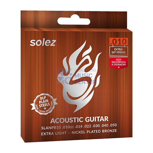 Acoustic Guitar - Nickel Plated Bronze