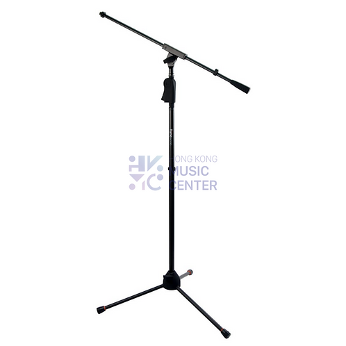 Deluxe Tripod Mic Stand with Single Section Boom