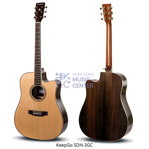 SDN-3GC Dreadnought Solid Top Acoustic Guitar   單板D桶缺角木結他