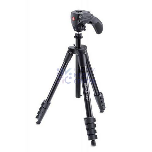 Compact Action Aluminium Tripod (with hybrid head)