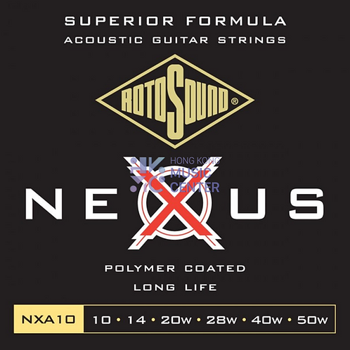 Nexus (Coated Phosphor Bronze) Acoustic Guitar String   防銹塗層木結他弦線