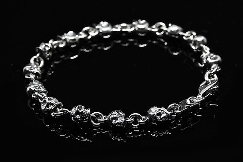 Skull full bracelet