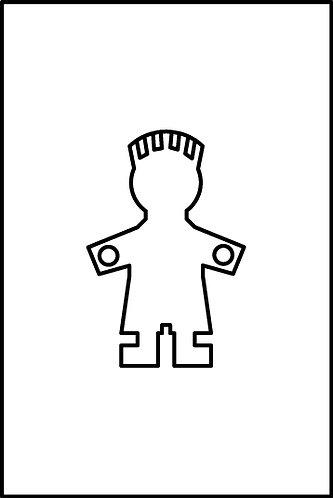 Maschio cm.2