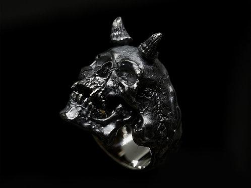 Open Jaws Samael Skull Ring