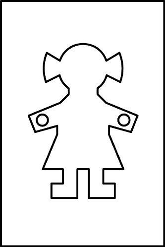 Femmina cm.3