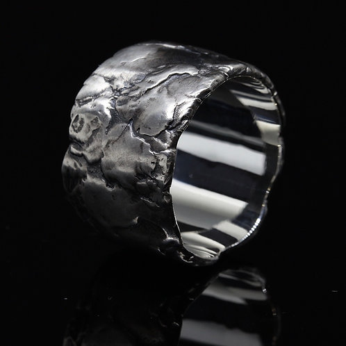 Greystone band ring