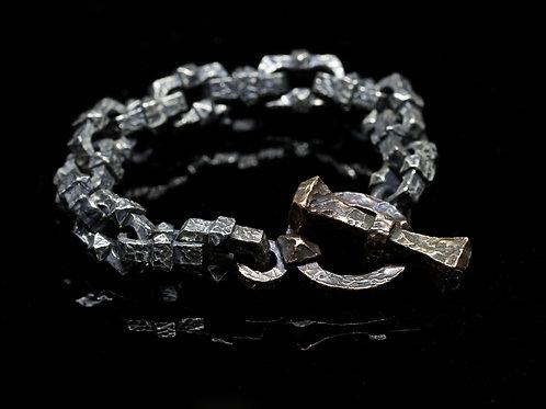 """Gravis Clavus"" bracciale (Mod. Chiusura in bronzo)"