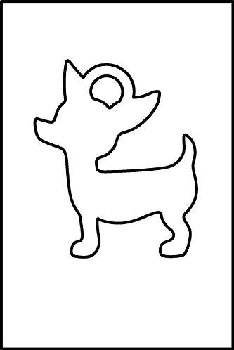 Chihuahua pendente