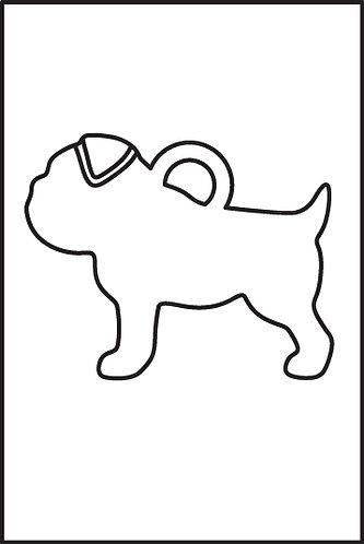 Bulldog Inglese pendente