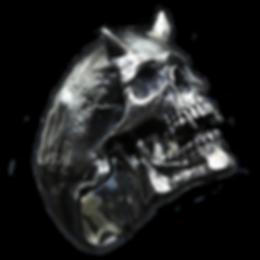 Skull ring devil Decem
