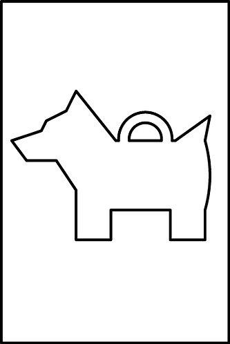 Cane standard pendente