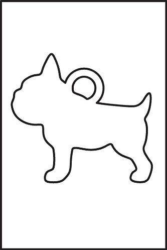 Bulldog Francese pendente